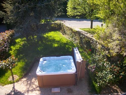 spa extérieur posé