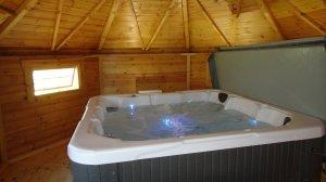 spa intérieur posé
