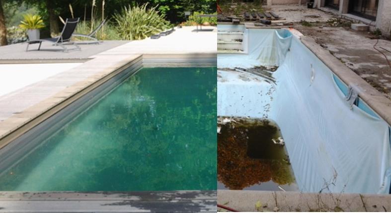 R novation compl te d 39 une piscine ext rieure koteo for Renovation piscine